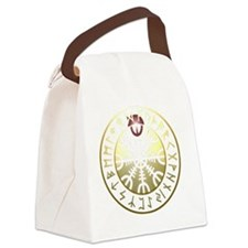 aegishjalmur rune shield PNG Canvas Lunch Bag