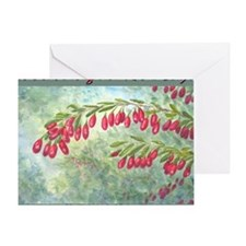 wolfberry YL blue Greeting Card