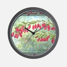 wolfberry YL blue Wall Clock