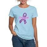 Strength Pancreatic Cancer Women's Light T-Shirt