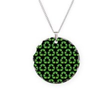 RecycleSymPatB460ip Necklace Circle Charm