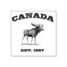 "Canada-Moose-3 copy Square Sticker 3"" x 3"""