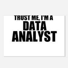 Trust Me, I'm A Data Analyst Postcards (Packag