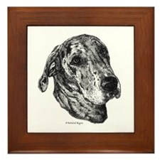 Merle Dane Framed Tile