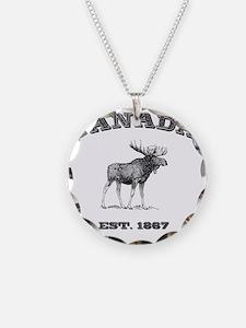 Canada-Moose-3 copy Necklace