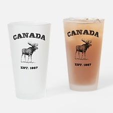 Canada-Moose-3 copy Drinking Glass