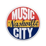 Nashville city Ornaments