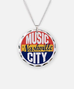Nashville Vintage Label B Necklace