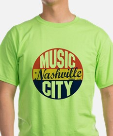 Nashville Vintage Label B T-Shirt