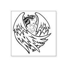"""angel-and-baby Square Sticker 3"""" x 3"""""""