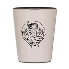 angel-and-baby Shot Glass