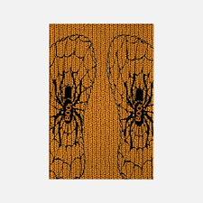 Knit_HalloweenSpider Rectangle Magnet