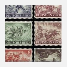 Wehrmacht day Tile Coaster