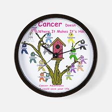 cancertree1.gif Wall Clock