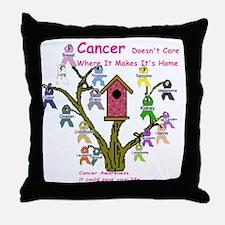 cancertree1.gif Throw Pillow