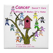 cancertree1.gif Tile Coaster