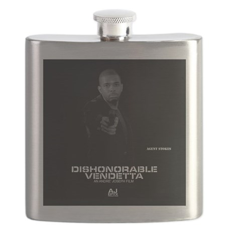 DV Stokes Pillow Flask