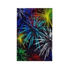 july 4th Rectangle Magnet