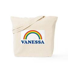 VANESSA (rainbow) Tote Bag