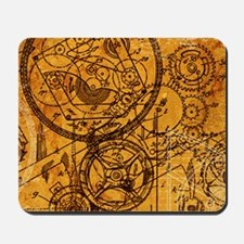 clockwork-collage_18x12-5 Mousepad