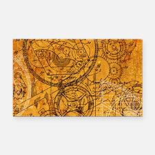 clockwork-collage_18x12-5 Rectangle Car Magnet