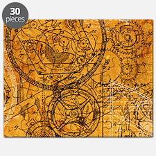clockwork-collage_18x12-5 Puzzle