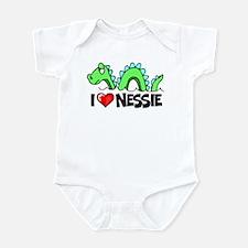 I Love Nessie Infant Bodysuit
