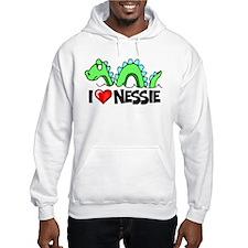 I Love Nessie Hoodie