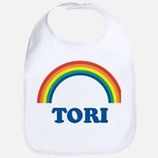 TORI (rainbow) Bib