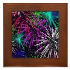 4th of july Framed Tile