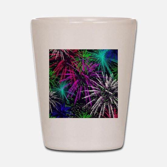 4th of july Shot Glass