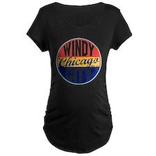Chicago Vintage Label W T-Shirt