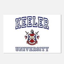 KEELER University Postcards (Package of 8)