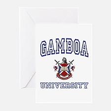 GAMBOA University Greeting Cards (Pk of 10)