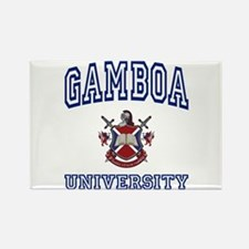 GAMBOA University Rectangle Magnet