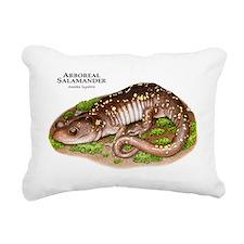 Arboreal Salamander Rectangular Canvas Pillow