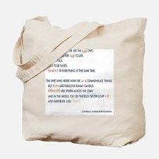 Kerouac - the mad ones copy Tote Bag