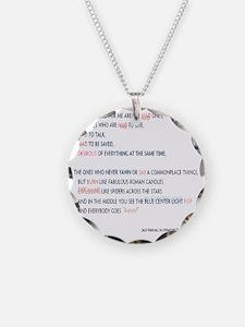 Kerouac - the mad ones copy Necklace