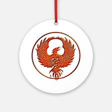 phoenix Round Ornament
