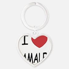 TAMALES Heart Keychain