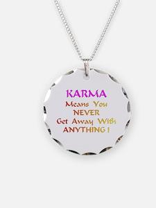 KarmaMeansXXX Necklace