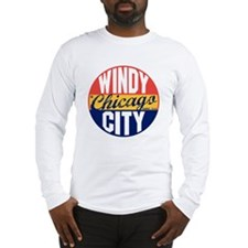 Chicago Vintage Label B Long Sleeve T-Shirt