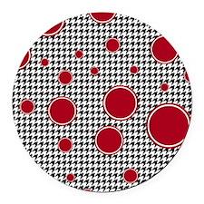 9.5x8 Round Car Magnet