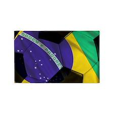 brazil banner 3'x5' Area Rug