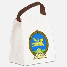 Mongolia Coat of Arms Canvas Lunch Bag
