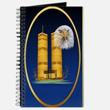 OvalJewelGold Twin Towers and Eagle Journal