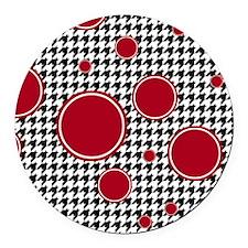 5.25x5.25 Round Car Magnet