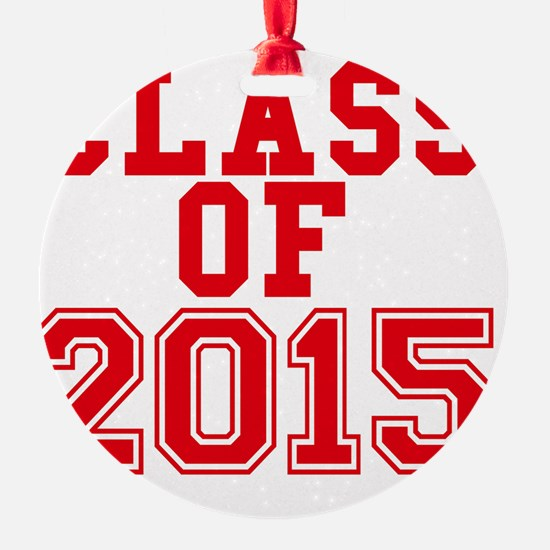class of 2015-page1 Ornament