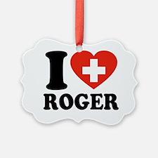 Love Roger Ornament
