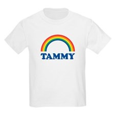 TAMMY (rainbow) Kids T-Shirt